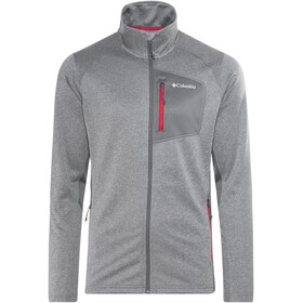 Columbia Jackson Creek II Full Zip Fleece Jacket Men Graphite Heather
